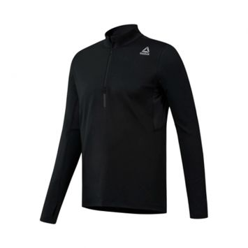 Buzo Sweatshirt Reebok Hombre Run Quarter Zip