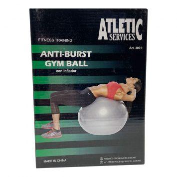 Pelota Gym Ball C/Inflador 75cm ( 30012 )
