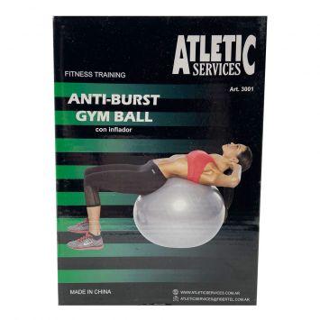 Pelota Gym Ball C/Inflador 65cm ( 30013 )