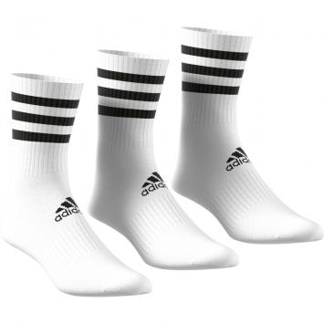 Medias Adidas 3 tiras pack x 3