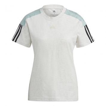 Remera Adidas Mujer Essentials Logo Colorblock