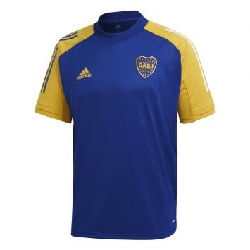 Camiseta Adidas Hombre Boca Entrenamiento JSY