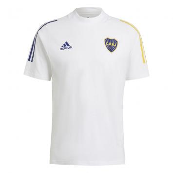 Camiseta Adidas Hombre Boca Entrenamiento TEE