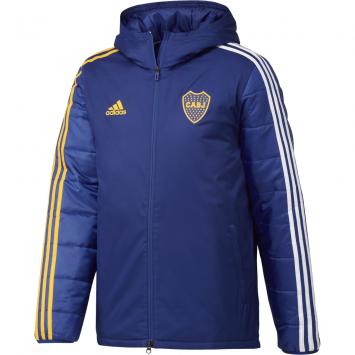 Campera Adidas Hombre Boca Juniors Parka Invierno