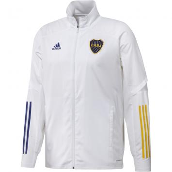 Campera Adidas Hombre Boca Juniors de Presentación