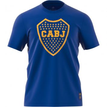 Remera Adidas Hombre Boca Juniors ADN